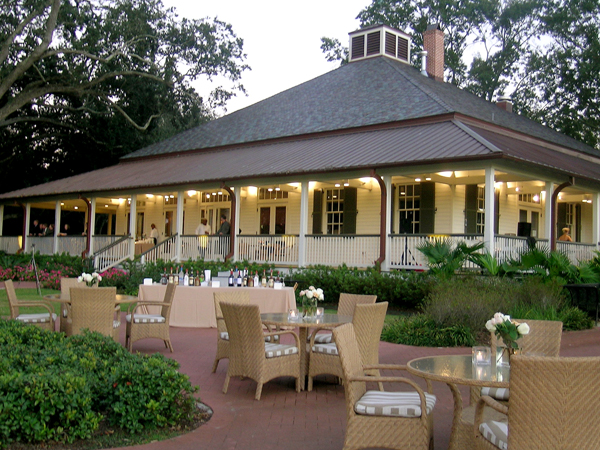 Audubon Clubhouse Café Wedding Venue In New Orleans Image - Audubon Nature Institute