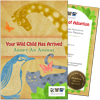 Audubon Nature Institute Adopt an Animal Certificate.