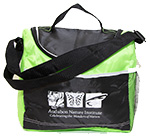 Audubon Nature Institute cooler bag in green.