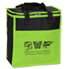 Audubon Nature Institute cooler bag in neon green and black.