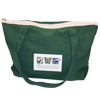 Audubon Nature Institute tote bag in green.