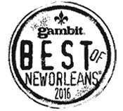 Best of Gambit 2016 logo.
