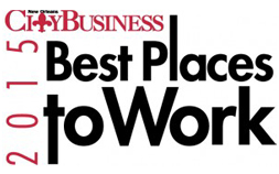 City Business 2015 Best Places to Work logo