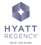 Hyatt Regency New Orleans logo.