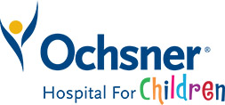 Ochsner Hospital for Children logo.