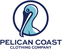 Pelican Coast Clothing Company Logo.