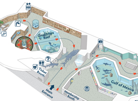 Aquarium Map