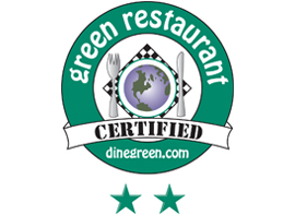Certified Green Restaurant logo