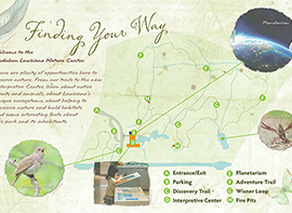 Nature Center Map