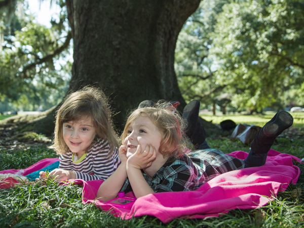 Picnic During A New Orleans Family Vacation Picture - Audubon Nature Institute