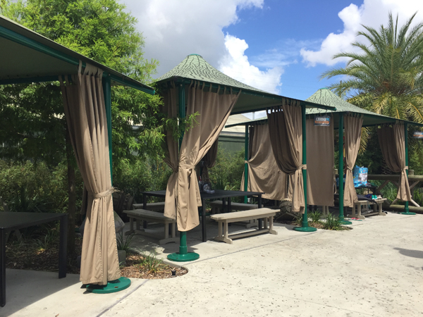 Photo Of A Cabanas for Kids Birthday Parties In New Orleans - Audubon Nature Institute
