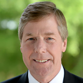 Profile photo of J. Kelly Duncan, President of the Audubon Commission.