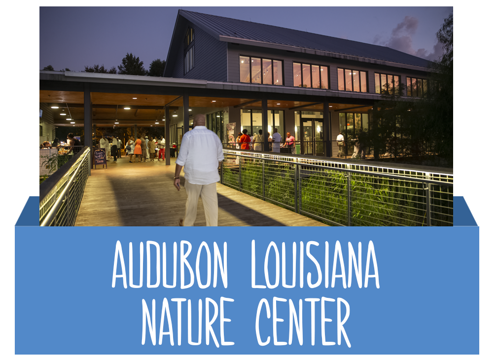 Audubon Louisiana Nature Center Button
