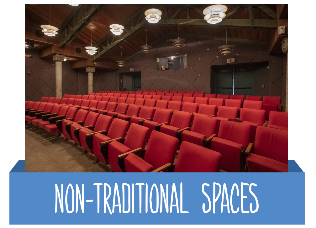 Non-Traditional Spaces Button
